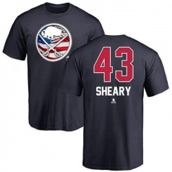 Youth Conor Sheary Buffalo Sabres Name and Number Banner Wave T-Shirt - Navy